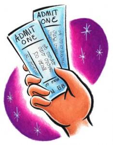 ingilizce konser bileti rezervasyonu diyalogu